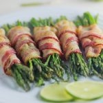 Crispy Roasted Bacon-Wrapped Asparagus