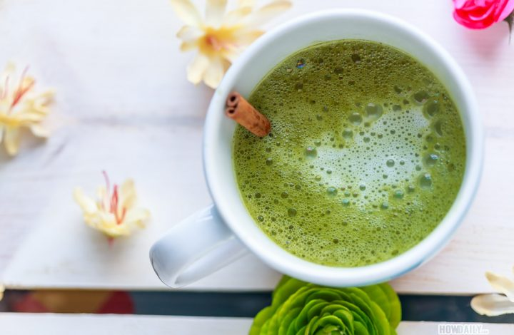 Spice up your Matcha Latte with Cinnamon Apple