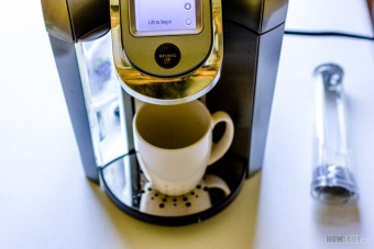 Descale a Keurig coffee maker