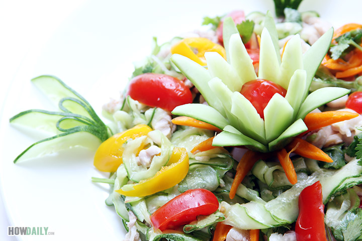 Chicken cucumber salad recipe