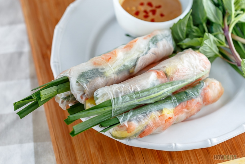 Goi cuon tom thit or fresh spring roll