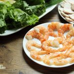 Shrimp for Vietnamese spring rolls
