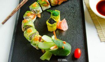 Dragon Roll – Fun Way For Sushi Lover