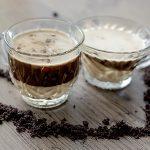 Mocha macchiato de agar-agar recipe