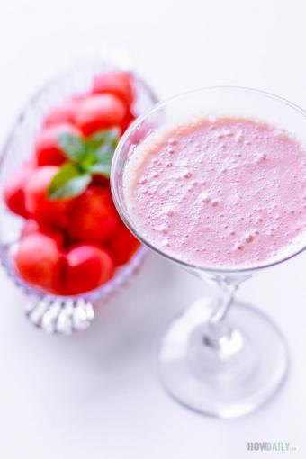 Watermelon Yogurt Smoothie