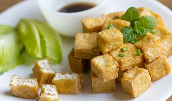 Fried-tofu dish