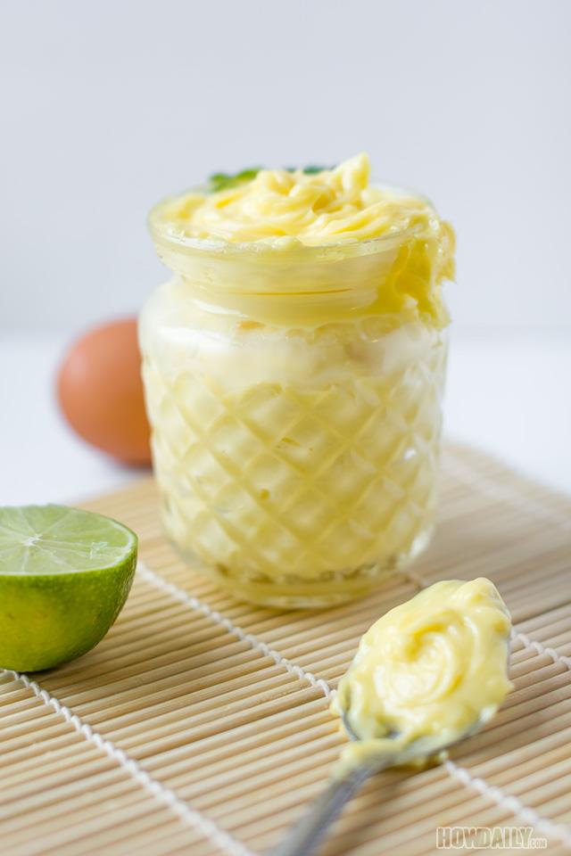 Homemade avocado oil mayonnaise