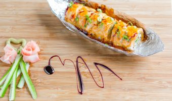 Lion King Sushi Roll – A Creamy Mouthwatering Treat for Cook-sushi Fanatics