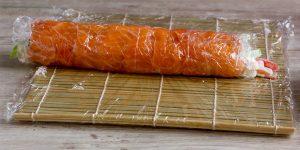 Lion king rolled-sushi