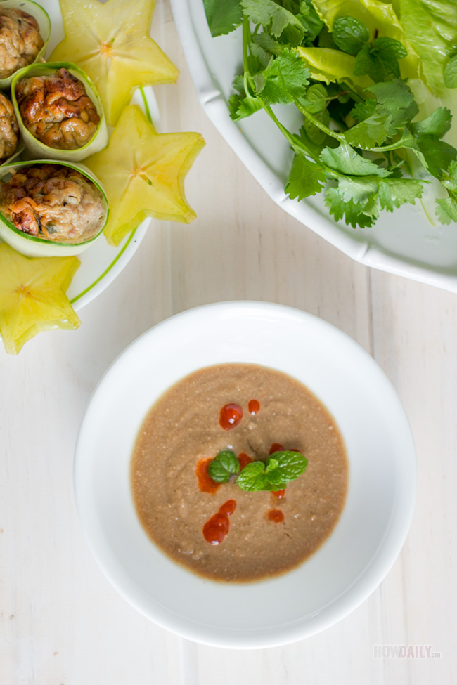 Sticky rice dipping sauce