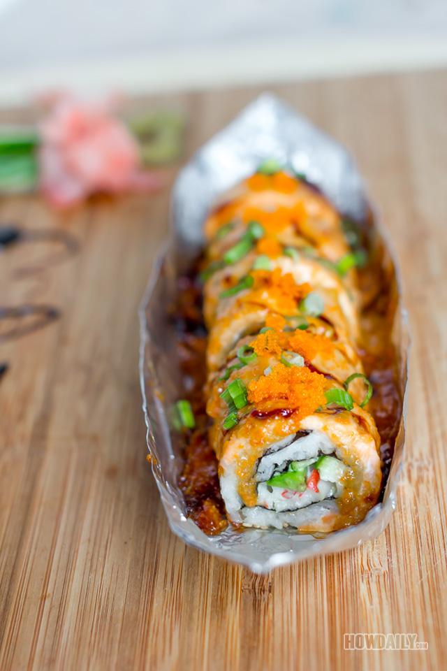 Baked-sushi