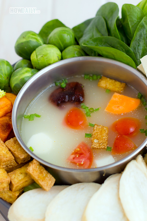 Vegan hotpot broth