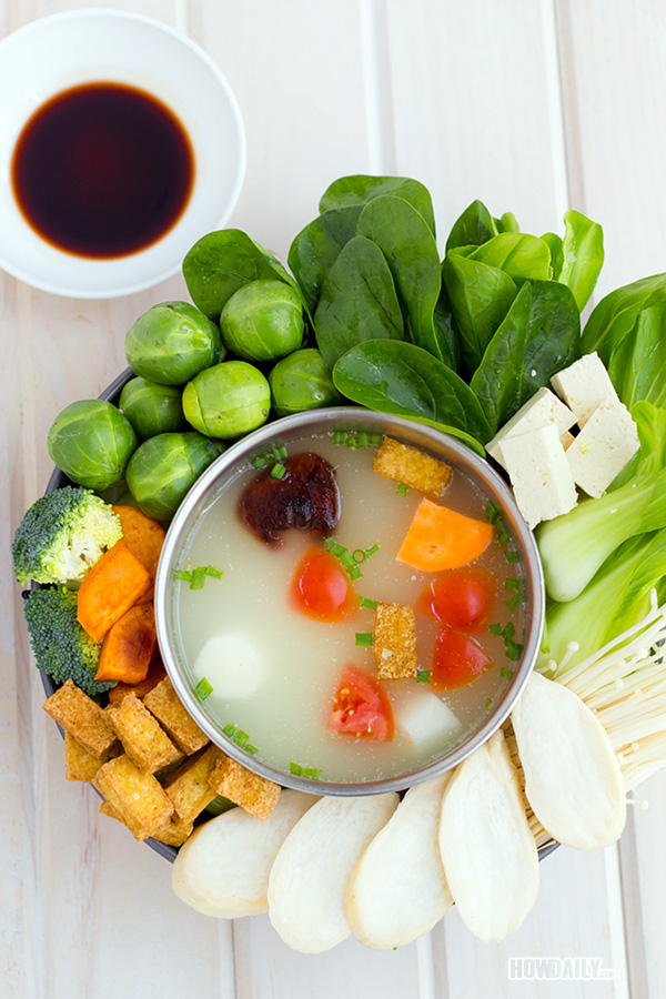 Vegan hotpot recipe