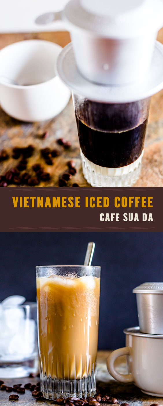 Vietnamese iced coffee Recipe (Cafe sua da)