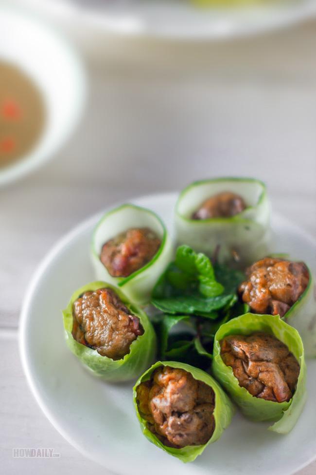 Vietnamese pork meatball dish