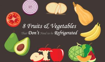 Fruits and vegetables no refrigeration