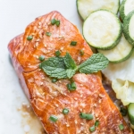 Baked salmon marinade
