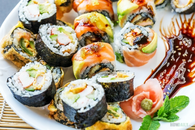 Makizushi rolls