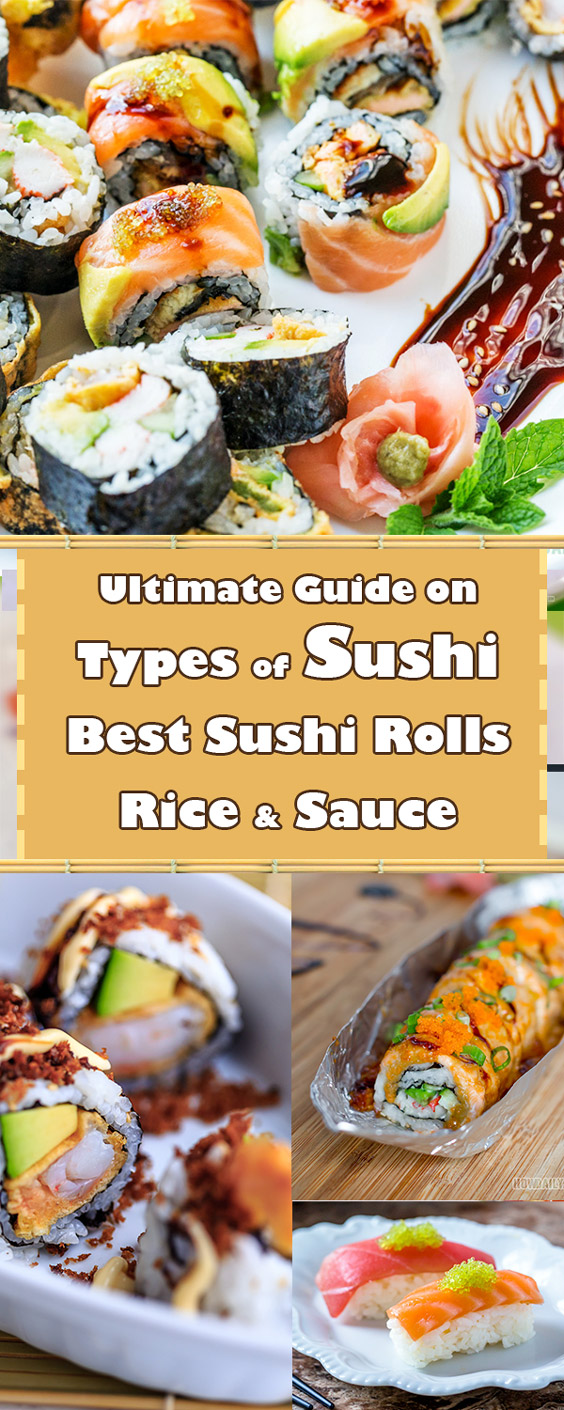 Different Types of Sushi and Best Sushi Rolls by HowDaily.com