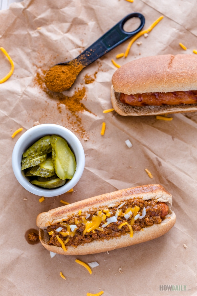 Hot-dog chili sauce recipe