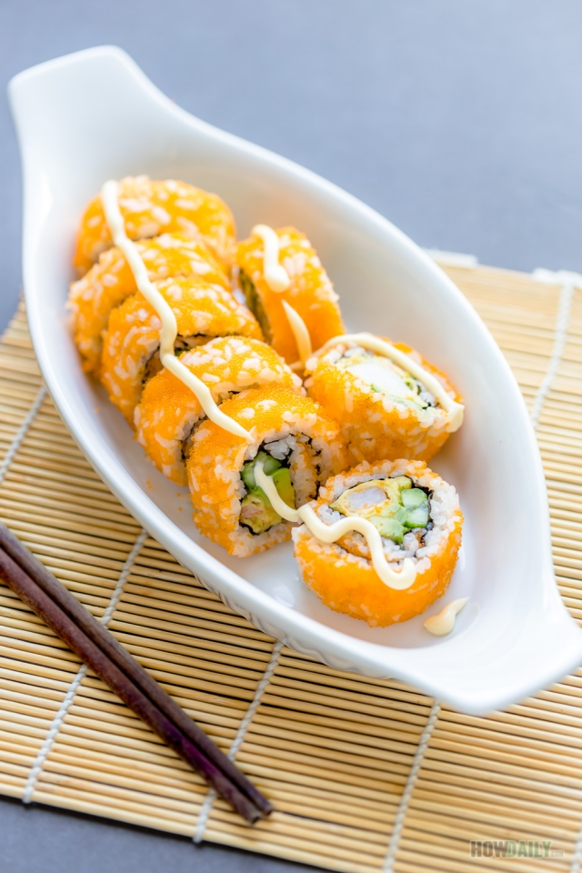 Boston sushi roll