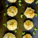 Baked Crab Stuffed Mushrooms with Cream Cheese