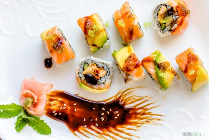 Temptation roll sushi
