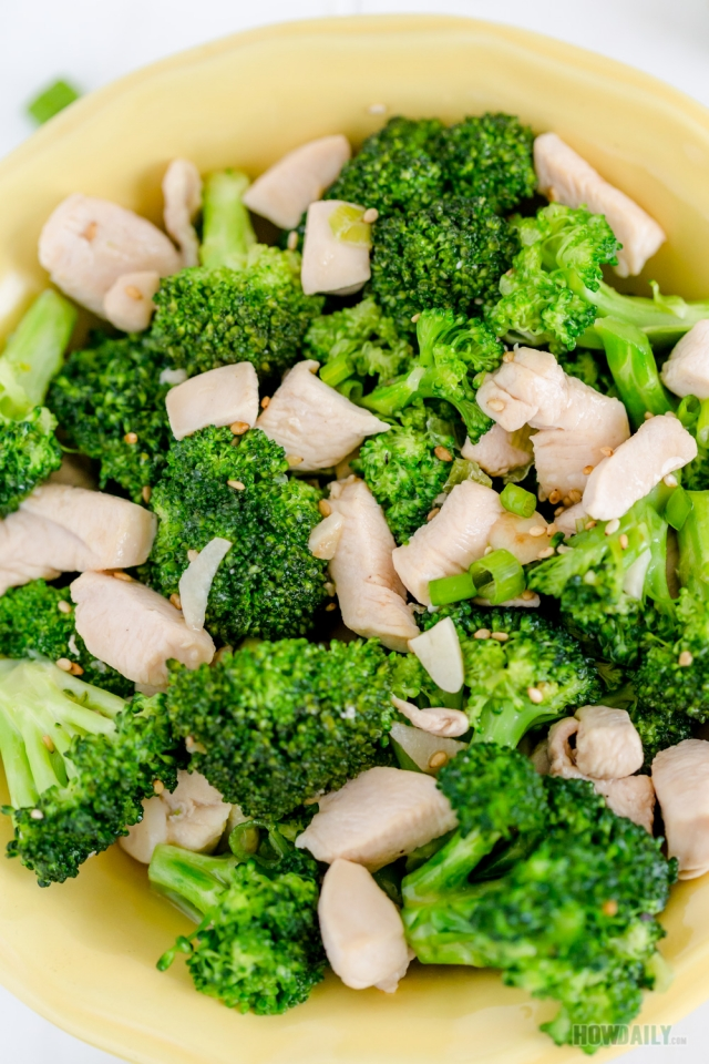 Easy Chicken And Broccoli Stir-Fry Recipe Healthy Fresh -6912