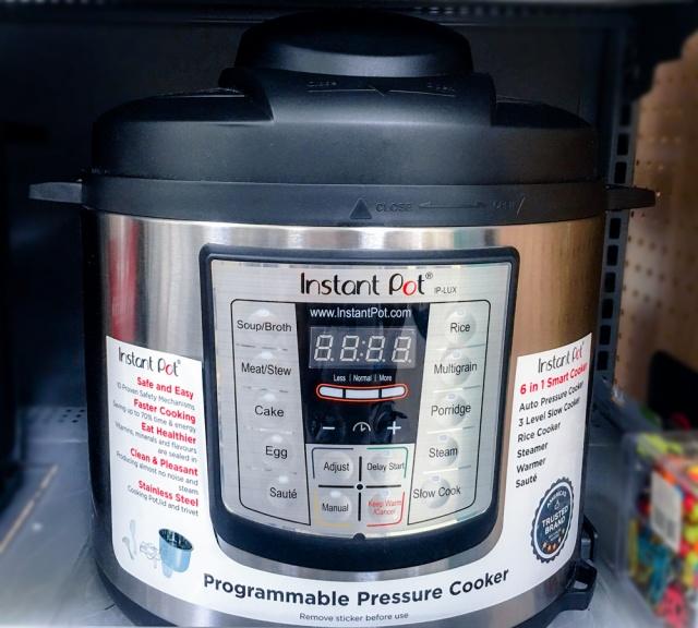 Instant pressure cooker