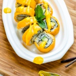 Crazy Mango Roll – Yummy Sushi with Tropical Mango