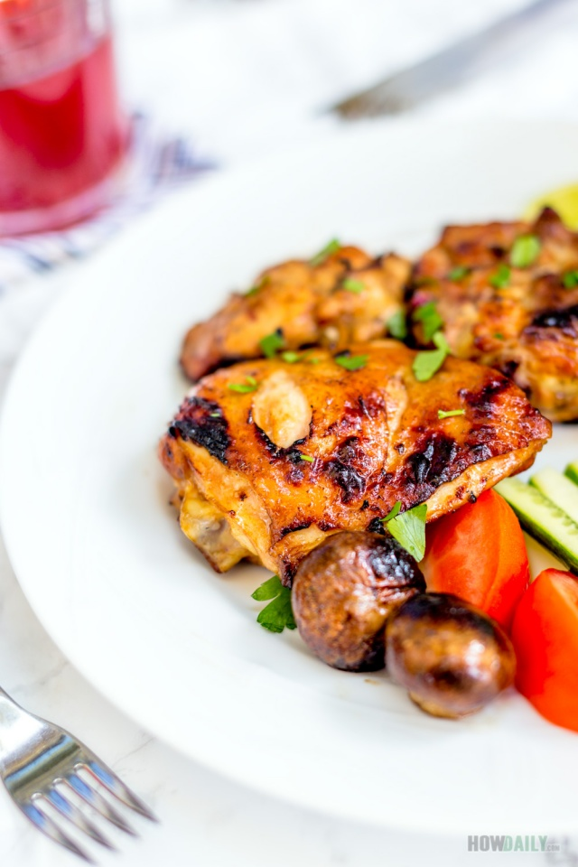 Simple chicken marinade