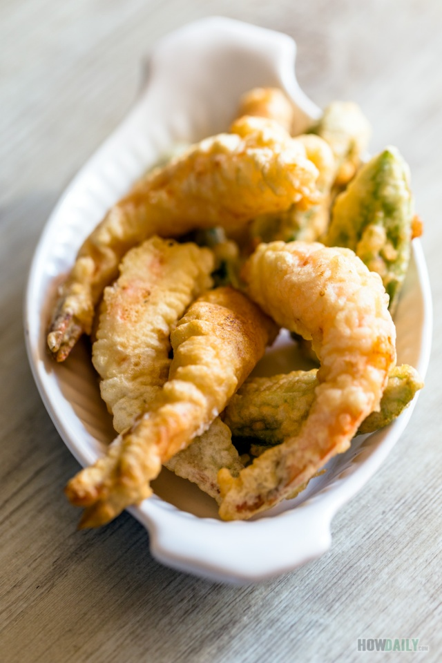 Tempura Shrimp & Vegetable