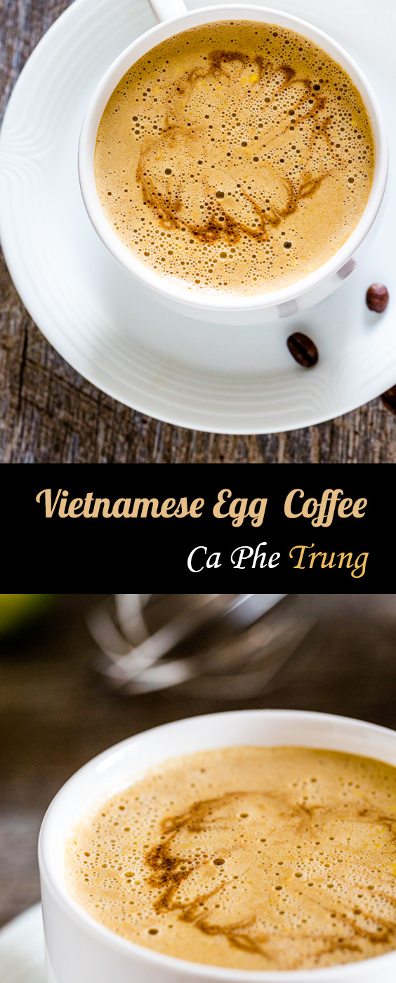 Creamy delicious Vietnamese egg coffee recipe (Ca Phe Trung))