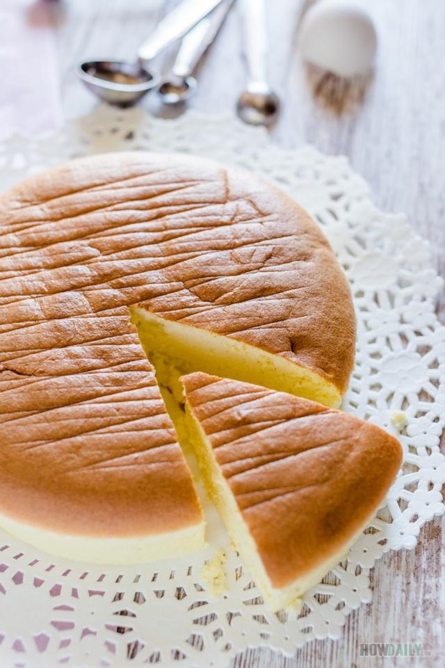 Fluffy sponge cake