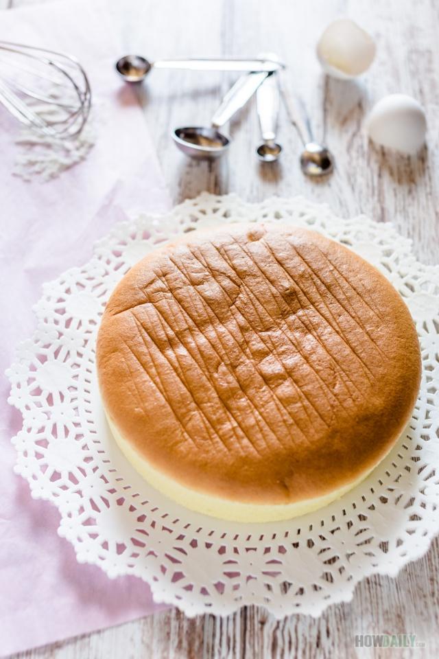 Perfect sponge cake