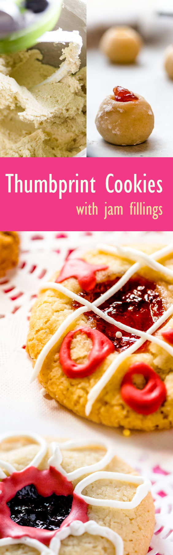 Easy short bread thumbprint recipe for your next holiday (Fill with jam)
