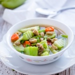 Chayote Squash Chicken Soup Recipe