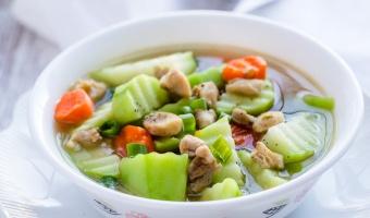 Chayote Squash Chicken Soup Recipe