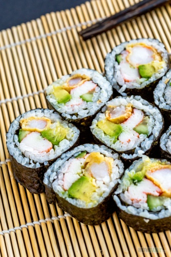 New Mexico Sushi Roll (Fresh Cooked-Sushi)