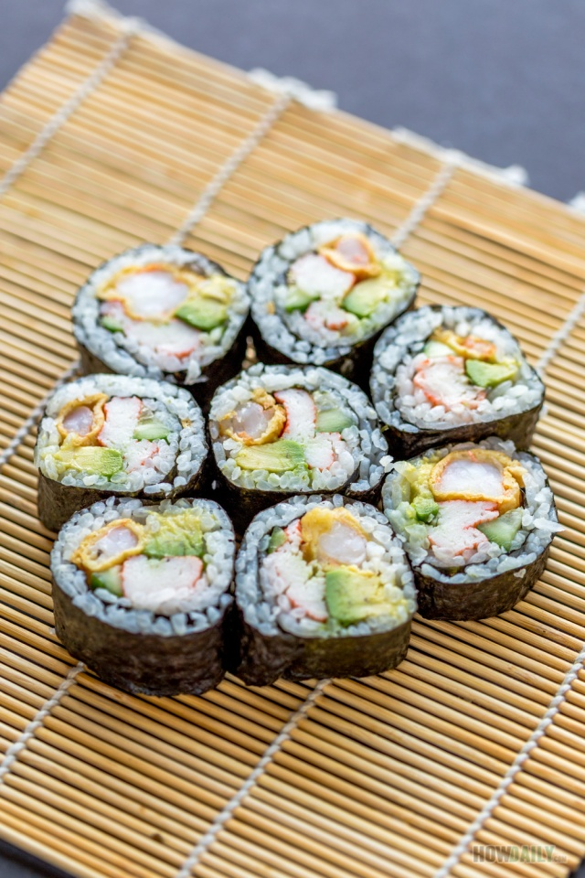 New Mexico sushi roll