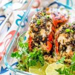 Baked Lobster Stuffed with Crab Meat & Garlic Butter – Star of the Feast of 7 fishes