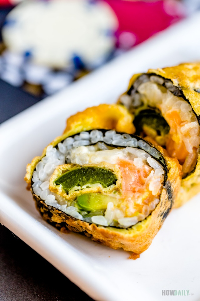 Las Vegas roll recipe