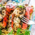 Crab meat stuffing