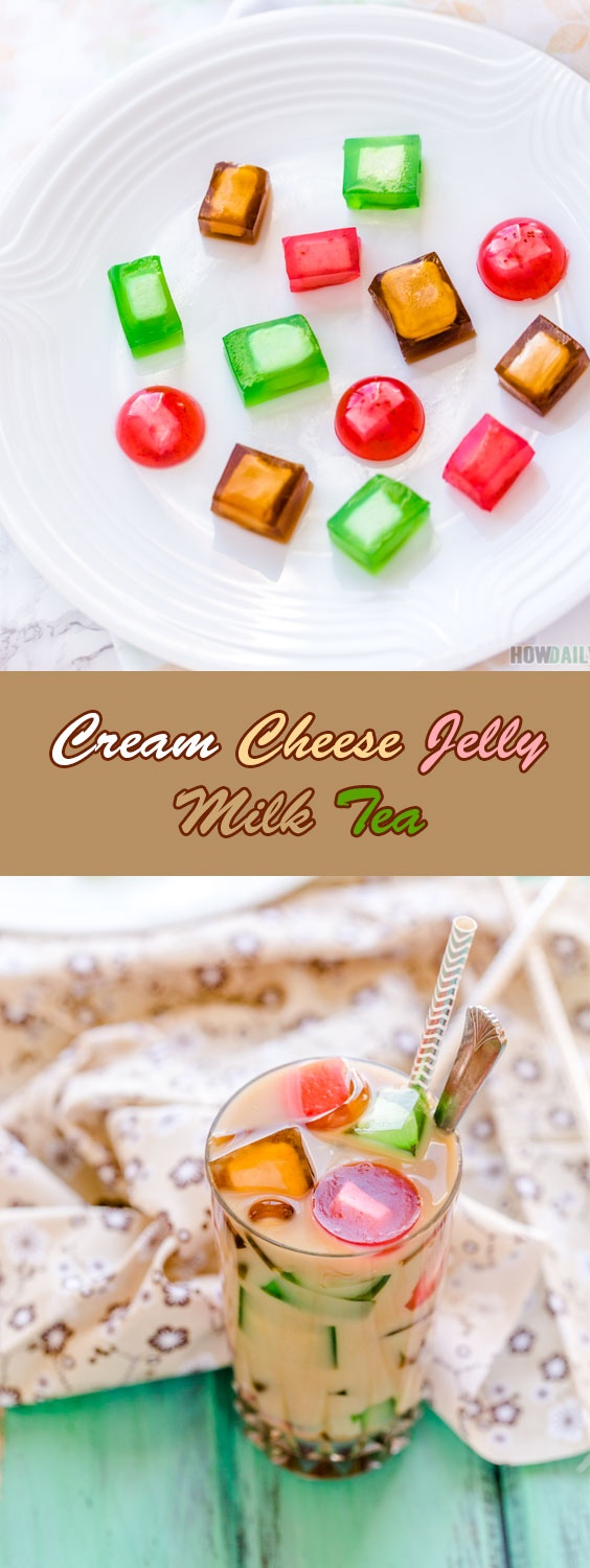 Cream Cheese Jelly Milk Tea Recipe