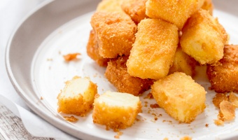 Golden Crispy Fried Milk