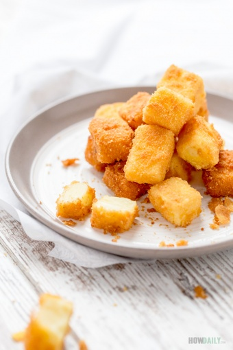 Fried Milk – Golden Crispy Layer Out, Buttery Sweet Inside This Melting Deliciousness