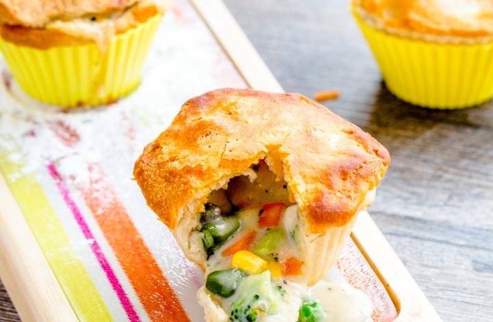 Tasty Mini Chicken Pot Pie