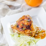 Coconut-Orange pan fried chicken