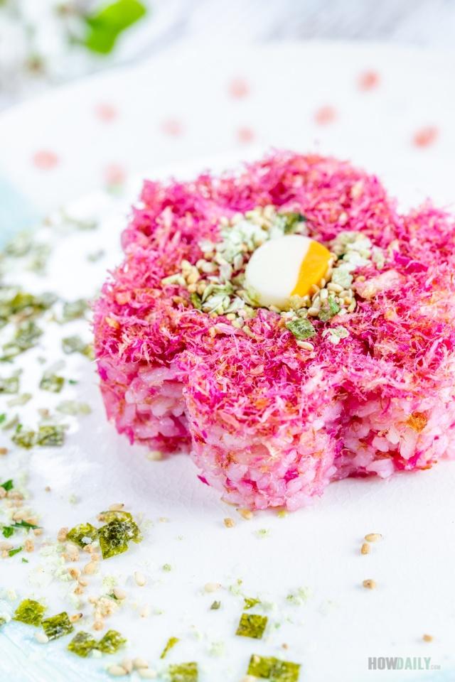 Sakura denbu recipe