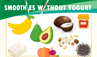 How to Make Smoothies Without Yogurt (Infographic with Recipes)